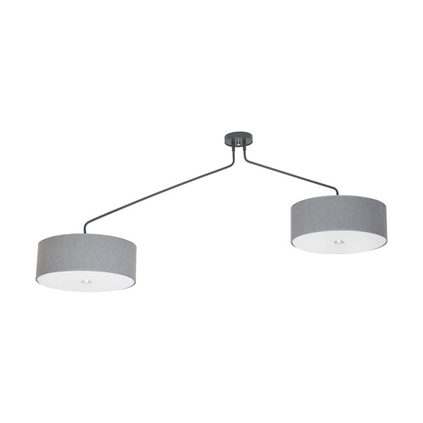 Lampa suspendata Hawk grey