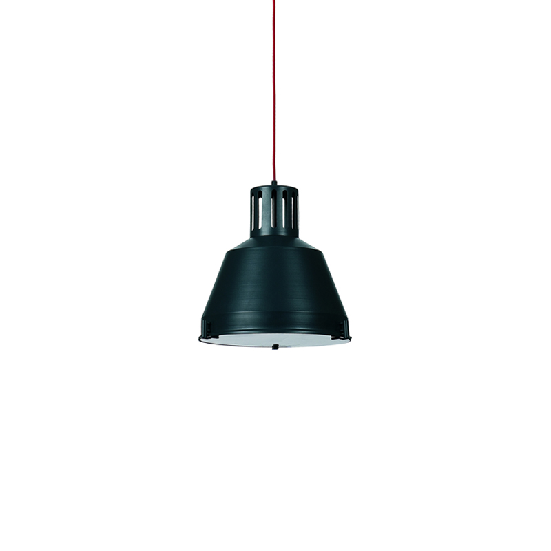 Lampa Industrial graphite